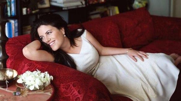 Monica Lewinsky en una producción fotográfica para una revista norteamericana