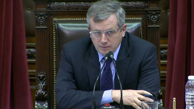 Emilio Monzó, ex presidente de la Cámara de Diputados