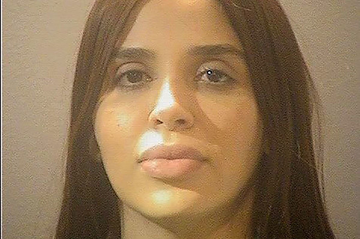 La esposa del Chapo está en la prisión de Alexandria y lleva ahí 107 días (Foto: Sheriff's Office/Handout via REUTERS)