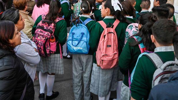 Los puntajes de la prueba PISA en México continúan estancados en materia de lectura, ciencia y matemáticas (Foto: AFP)