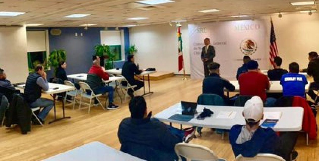 According to the letter of the local consular employees, the dismissals have been notified even to workers with decades of service (Illustrative photo: Twitter @ConsulMexCho)
