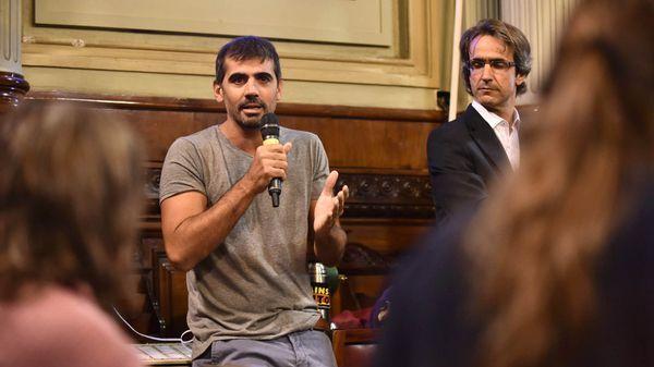 Pablo Rubino, uno de los que integraron la comitiva argentina que viajó a La Haya (Adrián Escandar)