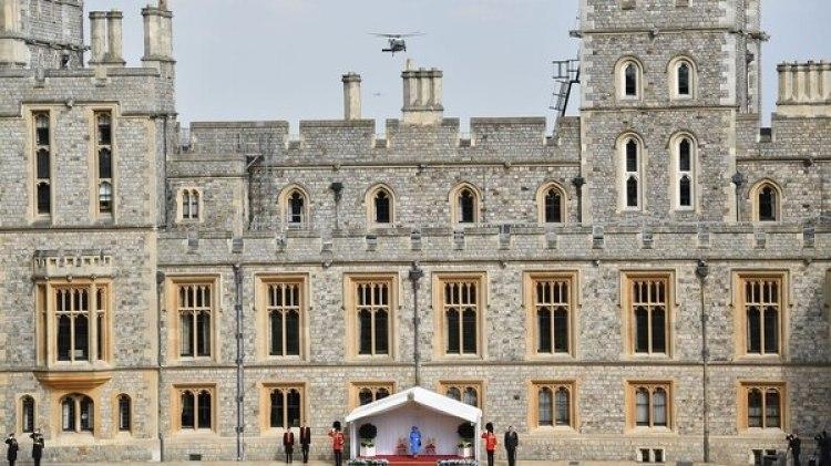 El castillo de Windsor (AFP PHOTO / POOL / Ben STANSALL)