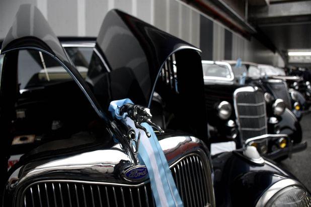 También hubo muestras y exposición de autos diseñados por estudiantes de escuelas técnicas