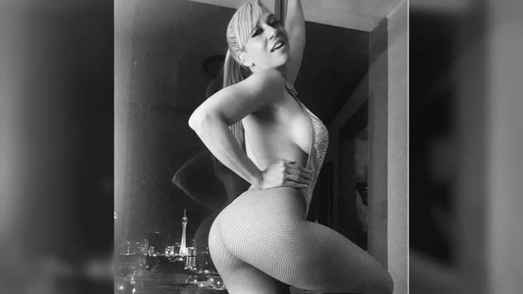 El Instagram de Noelia se convirtió en un catálogo de imágenes eróticas donde presume su figura