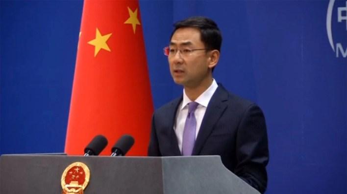 Geng Shuang, portavoz del Ministerio de Exteriores de China (Reuters)