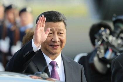 07/03/2017 Chinese President Xi Jinping INTERNATIONAL POLICY picture alliance / Wolfgang Kumm / DPA
