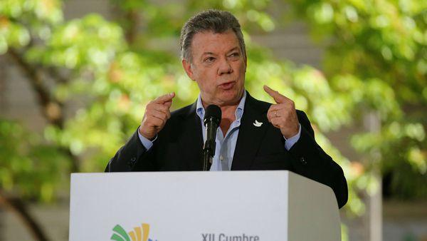 El presidente colombiano Juan Manuel Santos (Reuters)