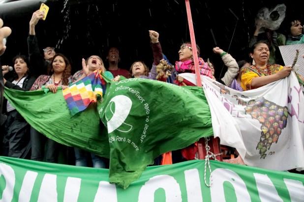 Este sábado comenzó en La Plata un nuevo Encuentro Nacional de Mujeres, una convocatoria que se realiza anualmente desde 1986 en distintas localidades del país (Fotos: Gabriela Hernández y María Paula Avila)
