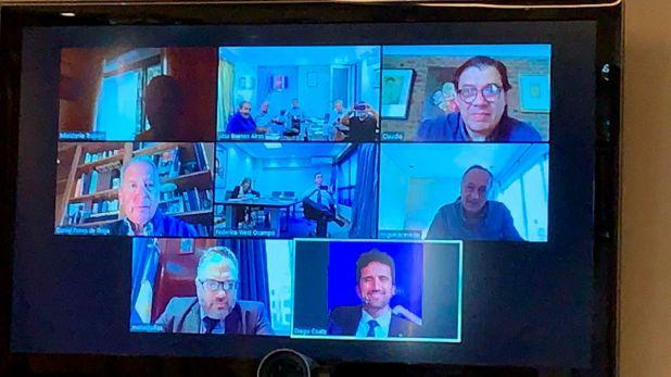 La CGT y la UIA tuvieron una videoconferencia con los ministros Claudio Moroni y Matías Kulfas para analizar la situación económica