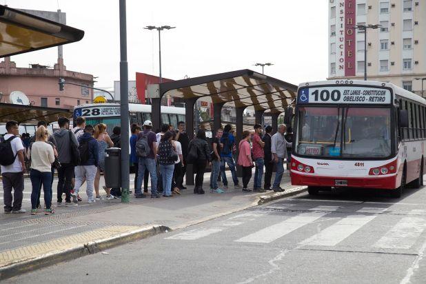 La idea es que solo utilicen el transporte público los trabajadores y no gente que vaya a hacer las compras o a pasear
