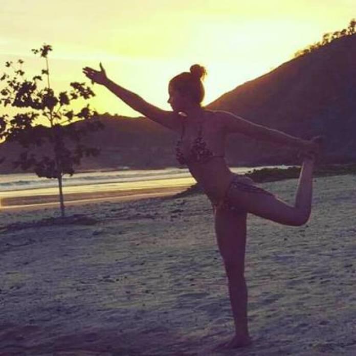 Lucero was seen as well in bikini. (Instagram: luceromexico)