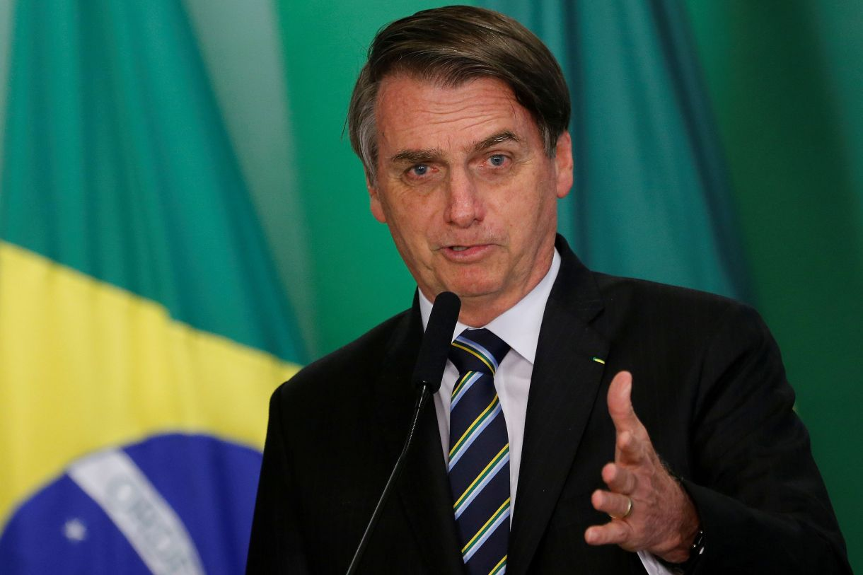 Jair Bolsonaro, presidente de Brasil (REUTERS/Adriano Machado/archivo)