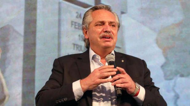 Alberto Fernández - 17 de octubre