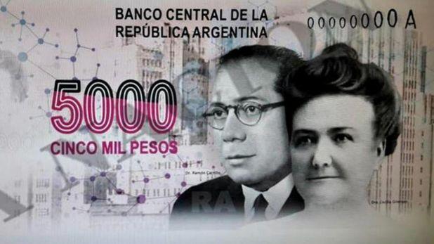 Billete 5000 pesos