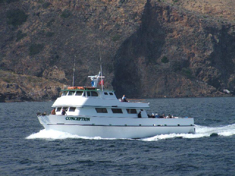 El barco Conception (truthaquatics.com)