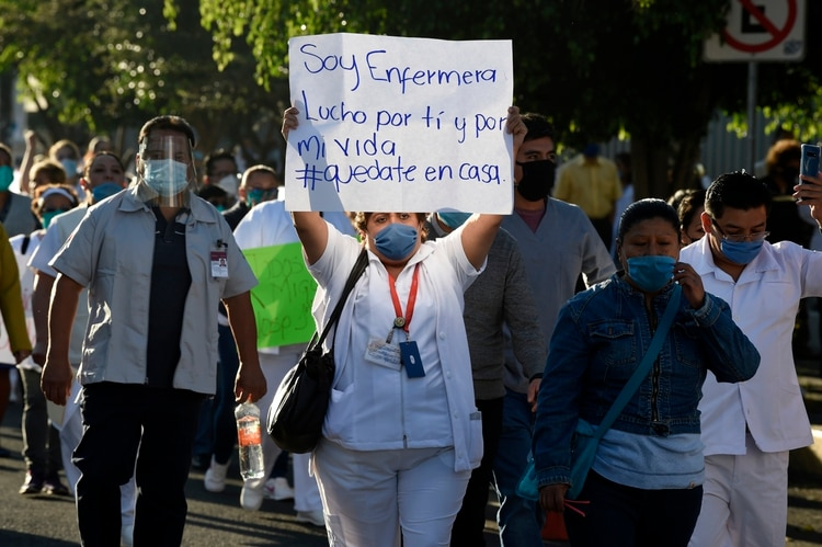 Protests are growing in the country due to the lack of supplies to meet demand (Photo: Alfredo Estrella / AFP)