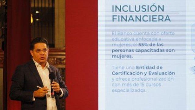 Rabindranath Salazar fue nombrado director, en octubre de 2018, del entonces Bansefi, institución que se transformaría en el Banco del Bienestar (Foto: Cuartoscuro/Magdalena Montiel)