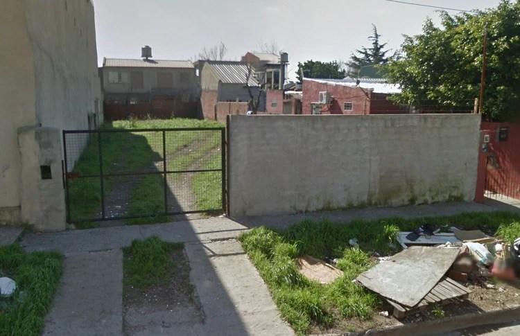 El terreno donde estaba la casa de Eichmann en San Fernando