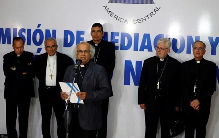 La Iglesia reanudará el diálogo en Nicaragua (REUTERS/Oswaldo Rivas)