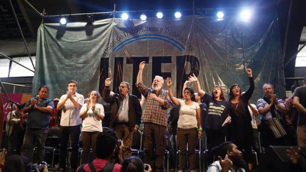 El lanzamiento de la UTEP, el sindicato de los movimientos sociales que integra Grabois