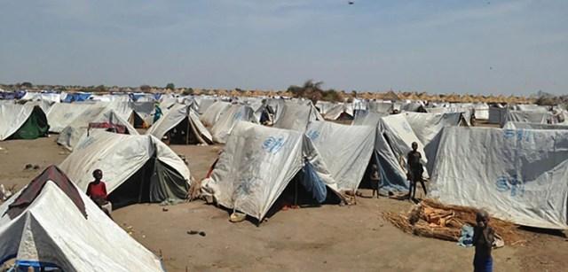 Un campamento de refugiados de ACNUR en Etiopi?a