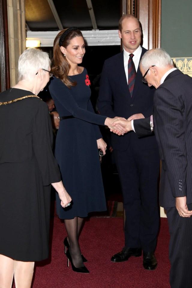 Los duques de Cambridge llegaron primero al evento (Foto: Chris Jackson/AFP)