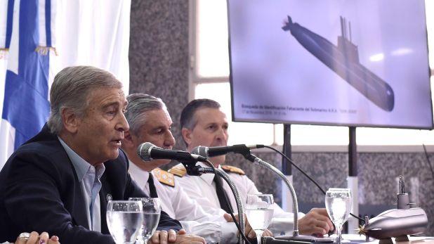 """El auditor comodoro Daniel Méndez asegura que el ex jefe de la Armada almirante Marcelo Srur, le informó tardíamente al ministro de Defensa Oscar Aguad sobre la """"perdida de contacto"""" con el submarino ARA San Juan"""