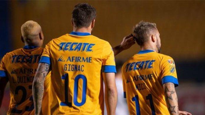 Gignac se ha consolidado como el máximo goleador de la institución con 147 tantos (Foto: Twitter@TigresOficial)
