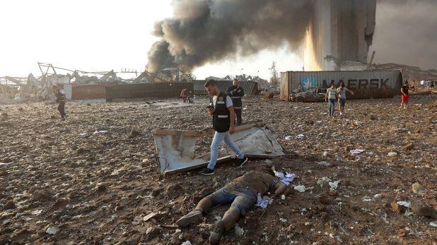 Explosion puerto Beirut