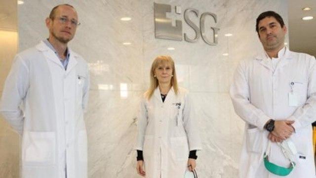 El suero fue probado en el Sanatorio Guemes, cuyo tratamiento estuvo supervisado por los doctores Pablo Marchetti - Estela Izquierdo - Anselmo Bertetti /Crédito Thomas Khazki