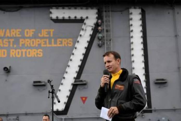 (U.S. Navy/Mass Communication Specialist 3rd Class Nicholas Huynh/Handout via REUTERS)