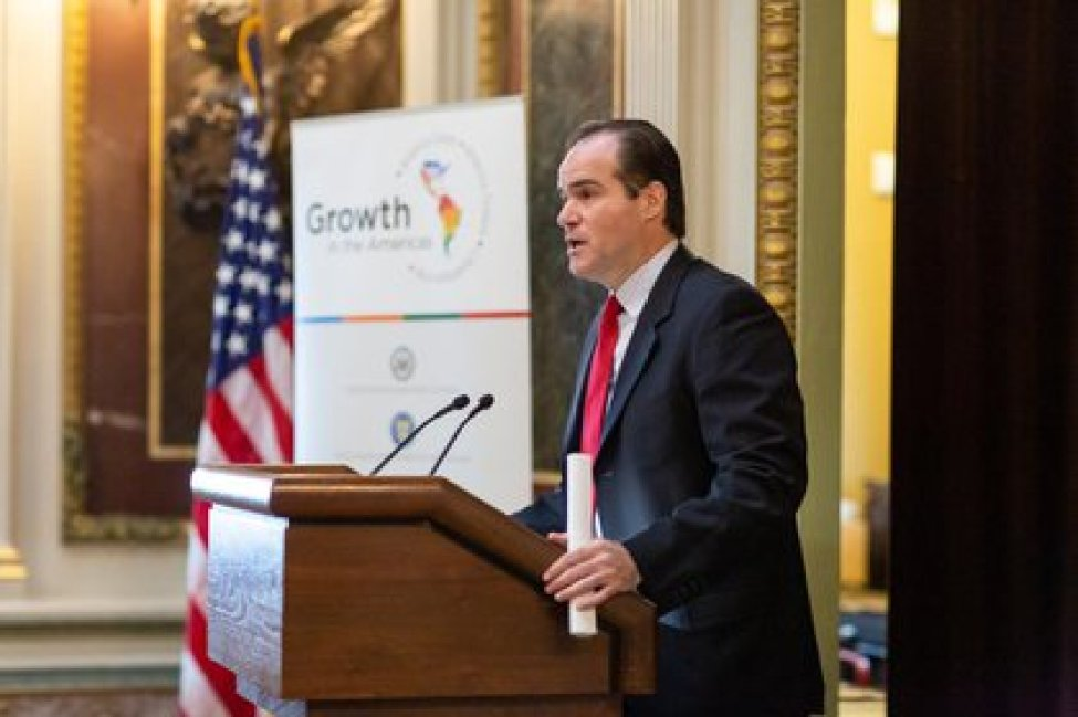 Mauricio Claver Carone, former advisor to the White House for Security Affairs in the Hemisphere and candidate to preside over the Inter-American Development Bank (Mauricio Claver-Carone Press)
