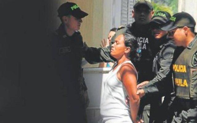Por la presunta venta de su hija (Karen Dayana Lambraño), Glenys Carias estuvo presa.