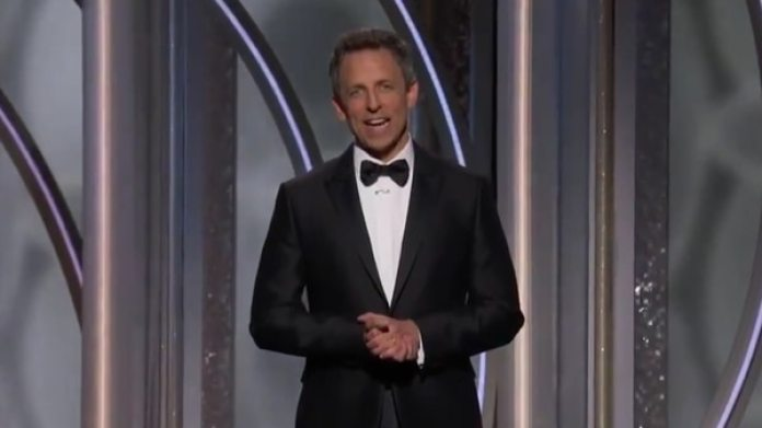 Seth Meyers, el conductor del evento