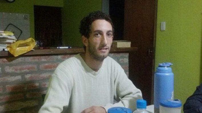 """2015: """"Pemo"""" Moreno, mientras se ocultaba tras el crimen."""
