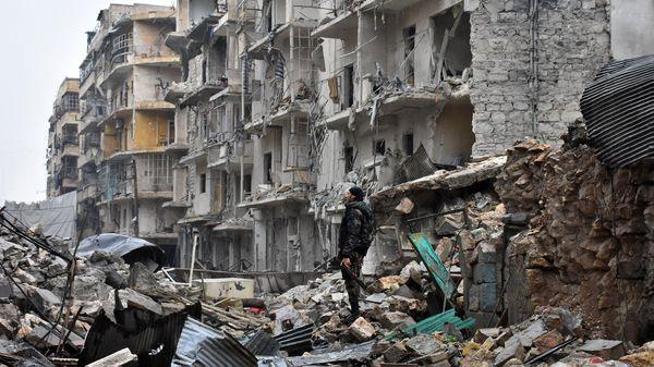 La ciudad de Aleppo, una de las más castigadas por la guerra en Siria (AFP)