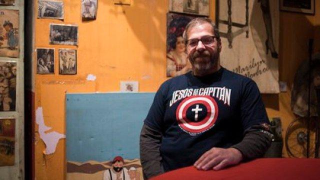 Carlos Busqued, año 2017 (Foto: Adrián Escandar)