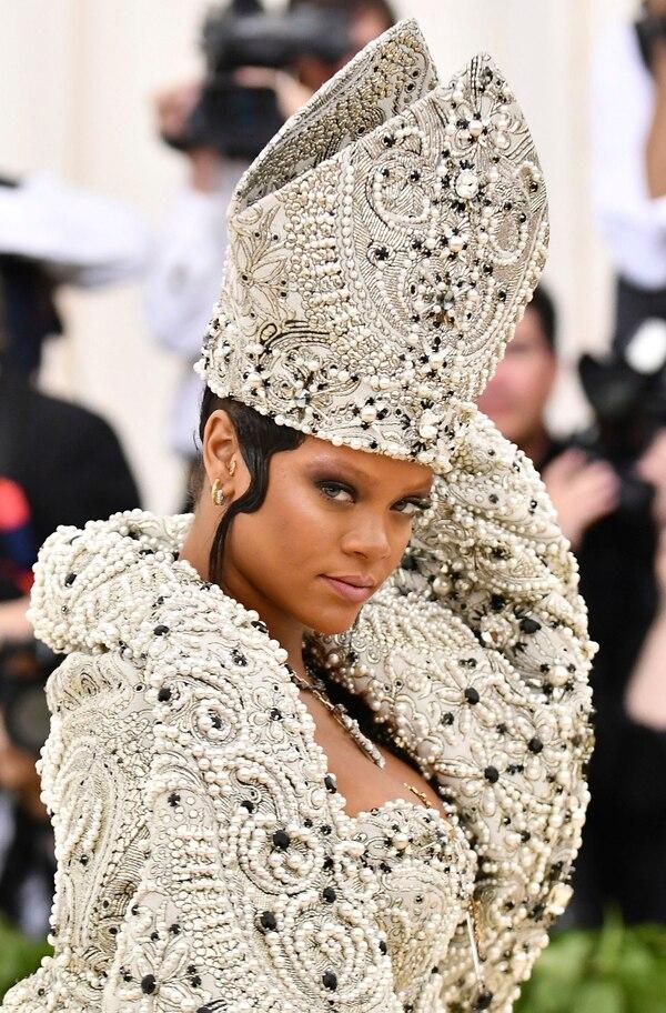 Rihanna, siempre espectacular (AP)