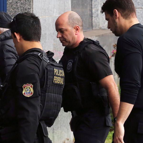 La detención de Guido Mantega (Reuters)