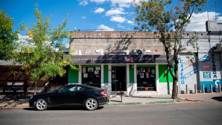 """""""Verde esmeralda"""", el negocio de Vitette, situado en el centro de San José."""