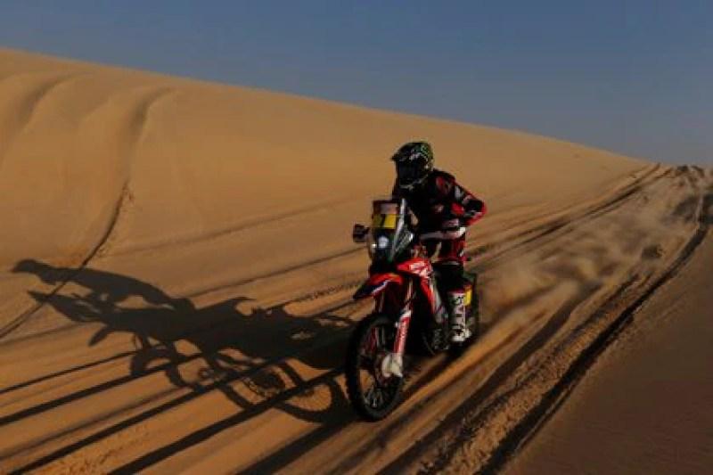 Honda había ganado el rally en la edición del 2020 (REUTERS/Hamad I Mohammed)