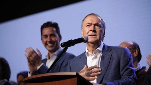 El gobernador de Córdoba Juan Schiaretti