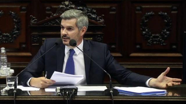 Marcos Peña en la Cámara de Diputados