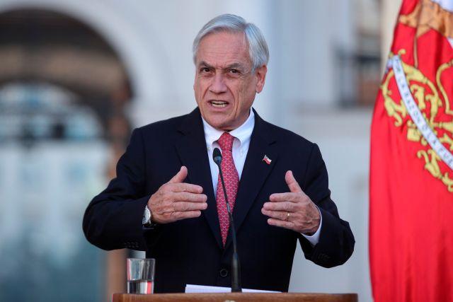 En la imagen, el presidente de Chile, Sebastián Piñera. EFE/Alberto Valdés/Archivo