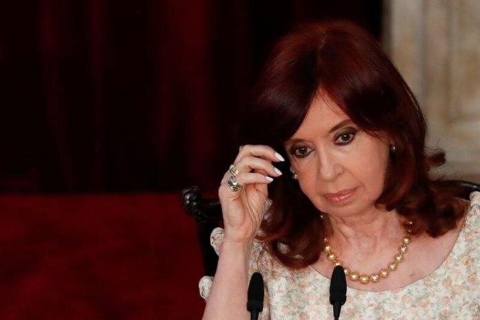 """La vicepresidenta Cristina Kirchner, una de las dirigentes que más insiste sobre """"lawfare"""" (Reuters)"""