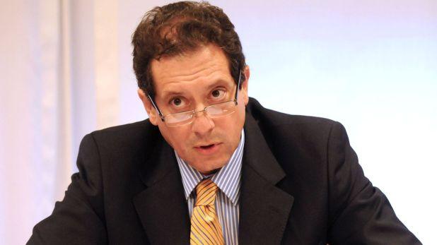 El titular del Banco Central, Miguel Ángel Pesce (Foto NA: DANIEL VIDES)