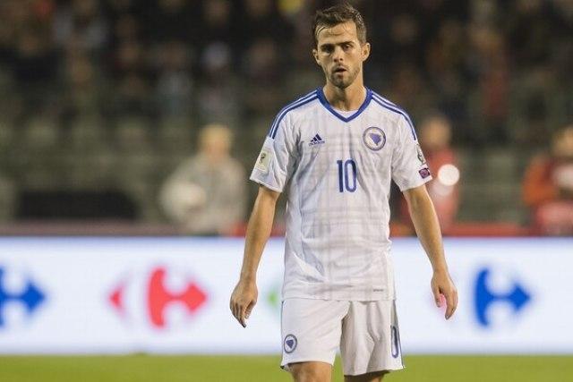 Miralem Pjanic, jugador de Bosnia y estrella de la Juventus (Getty Images)