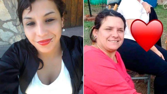 Victimas femicidios autopista Ezeiza Cañuelas