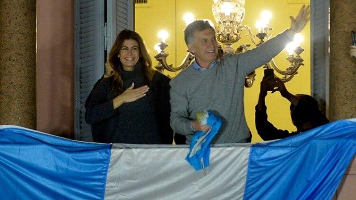 La marcha de apoyo a Macri de la última semana de agosto (Gustavo Gavotti)